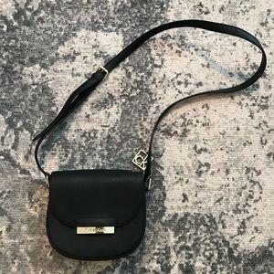 CALVIN KLEIN Mini Saddle crossbody Black Bag